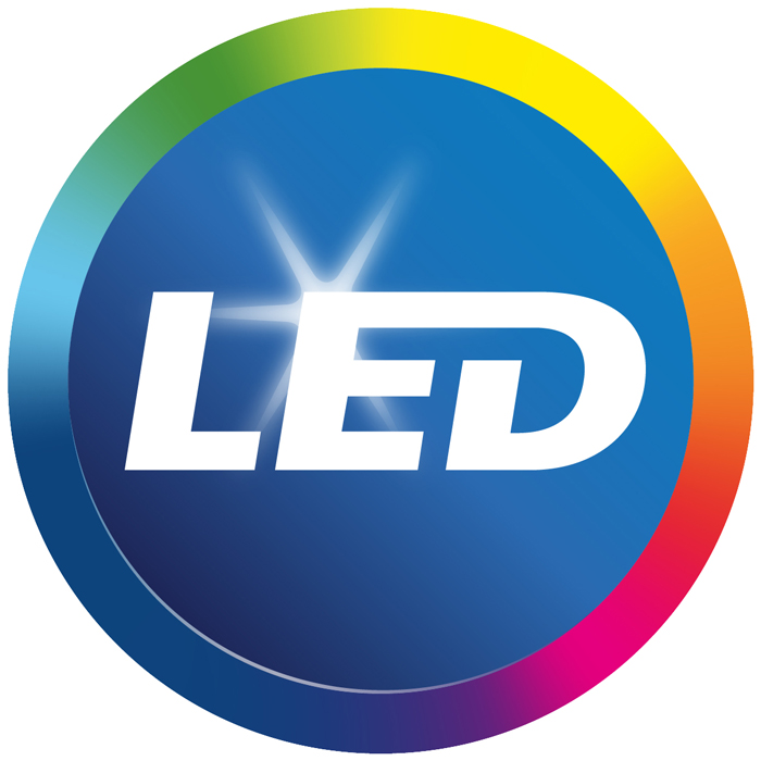 Philips LED-logotypen