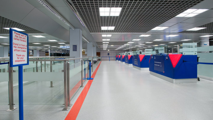 Philips Lighting lyser upp Manchester Airport Terminal 2