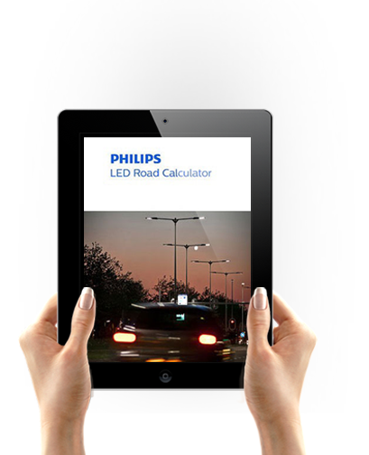 Philips LED Road Calculator appar logotyp