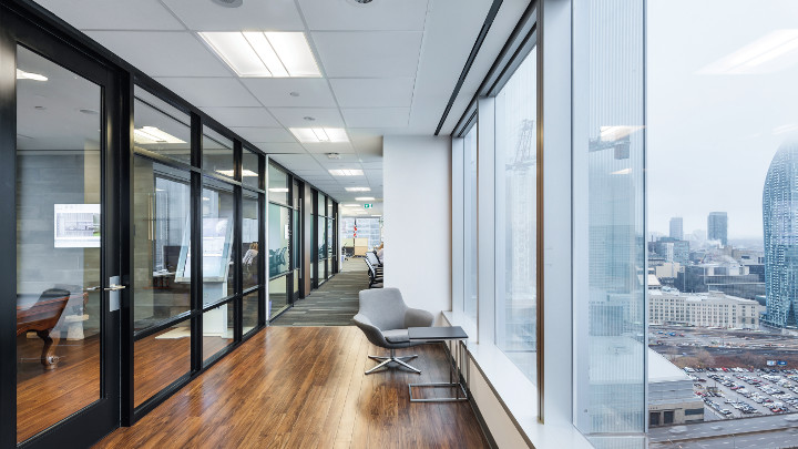 Philips Lightings Connected Lighting (InterAct Office) kan hjälpa till att skapa ett smart kontor