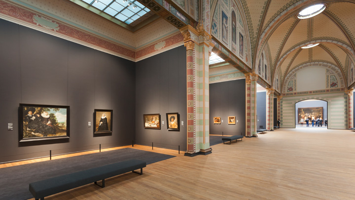 Olika utrymmen på Rijksmuseum i Amsterdam – Philips Lighting