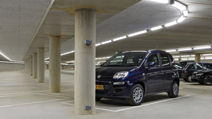 Pacific LED GreenParking-armatur – LED-belysning för parkering