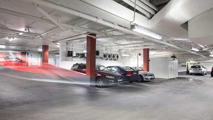 Belysning Göteborg : Kungsportsavenyns parkering philips lighting