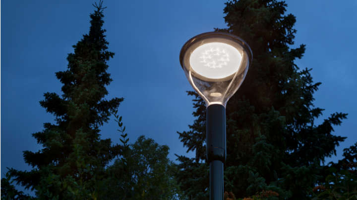 Philips parkarmatur Metronomis LED.