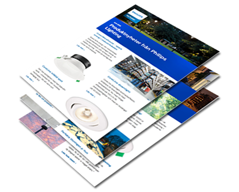 Philips eNewsletter om belysning